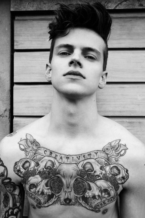 Male Chest Tattoo Gallery: 702 Best Tattoo Man Images On Pinterest