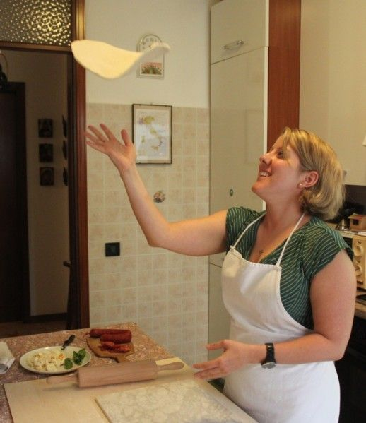 Learn how a Pizza is made at the Cooking Classes in Venice area Italy - Four hours of hands-on pizza making and eating! Learn how to make dough from scratch and craft the perfect pie.
