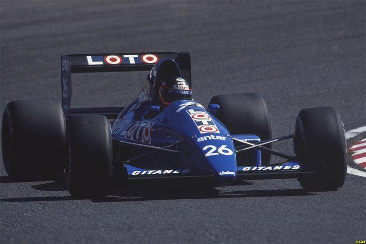 Olivier Grouillard Ligier JS33 Suzuka 1989