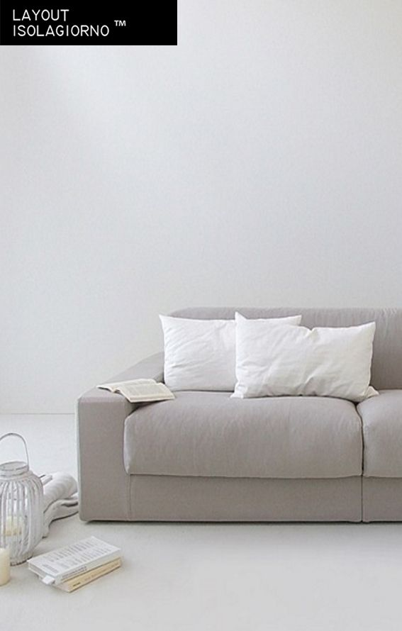 ISOLAGIORNO™ CLASS monò 3-er Sofa Hersteller LAYOUT ISOLAGIORNO™ by Farm design by Arkimera architecture and design (2014)