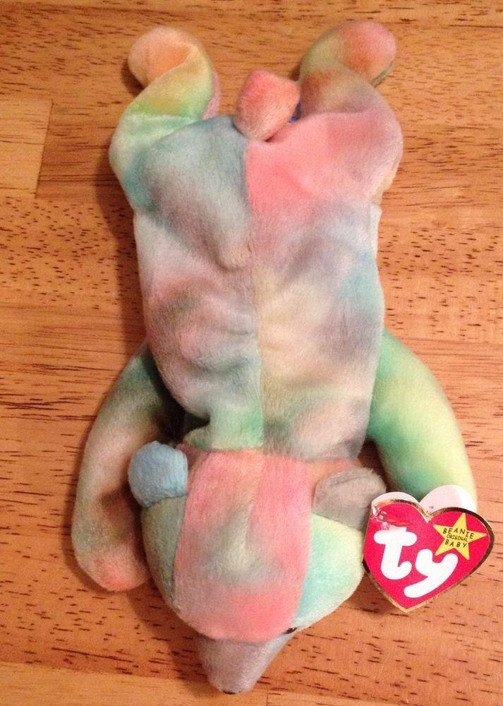 SAMMY ORIGINAL BEANIE BABY 2 ERRORS RETIRED/RARE NO NUMBER ON TUSH TAG TY  #Ty