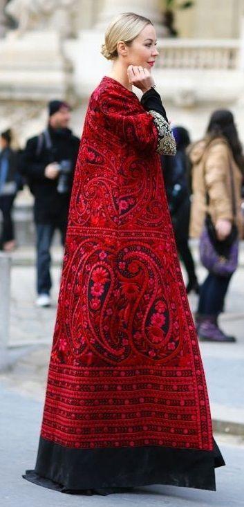 Зимняя одежда в русском стиле - Стиль - Стиль на сайте ИЛЬ ДЕ БОТЭ