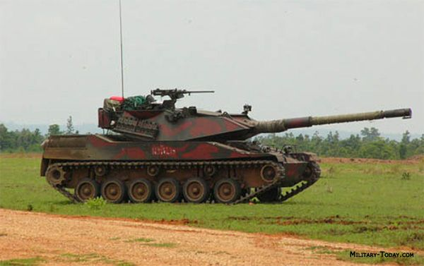 military tanks   The Stingray light tank is in service with Royal Thai army