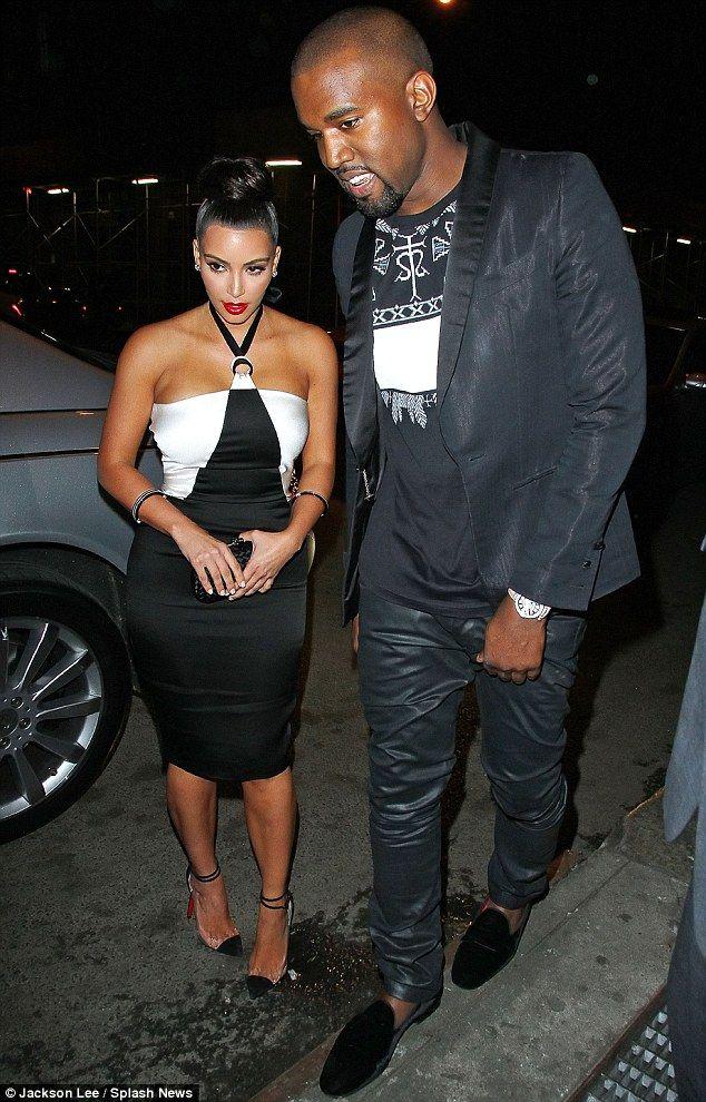 kim kanye: Kardashian Hair, Matching Outfits, Monochrome Outfits