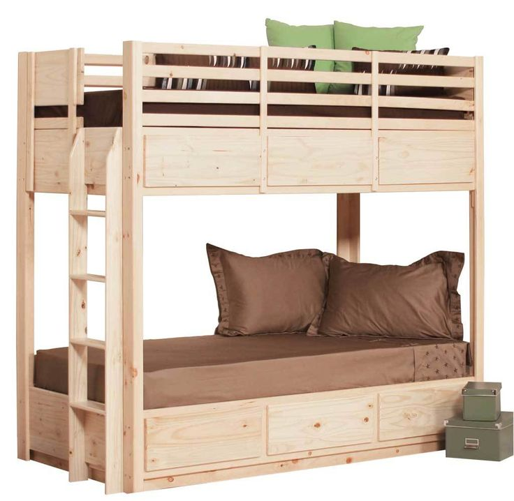 Gothic Cabinet Craft - SPECIAL - Twin Bunk Bed | 6 Drawers, $589.00 (https://www.gothiccabinetcraft.com/special-twin-bunk-bed/)