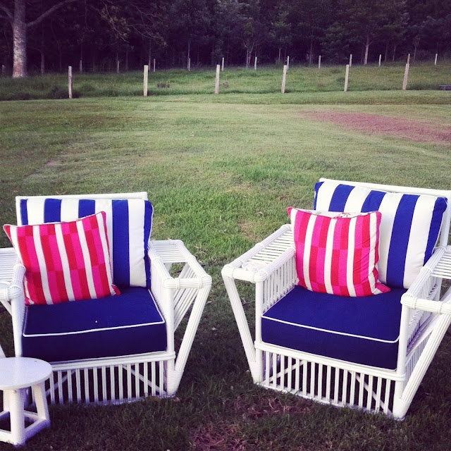 absolutely beautiful things: Canes Chairs, Anna Spiro, Verandah Chairs Absolutely, Chairs Absolutely Beautiful, Outdoor Chairs, Stuart Memberi, Outdoor Spaces, Lawn Parties, Beautiful Things