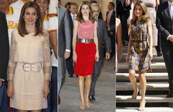 Принцесса Летиция подарила свои наряды Музею платья в Мадриде