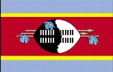 Country of Swaziland Flag