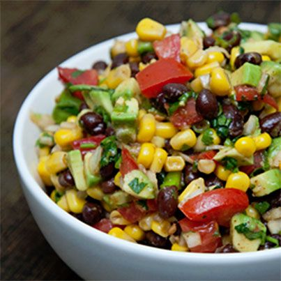 Southwestern Black Bean Salad | Favorite Recipes | Pinterest