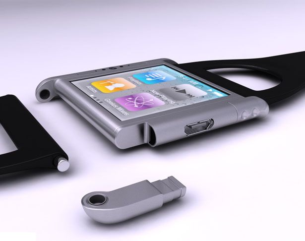 iPhone Nano Watch concept by Olivier Demangel  Would you like something like this?