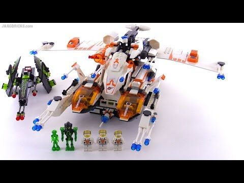 LEGO Mars Mission MX-81 Hypersonic Operations Aircraft from 2008! set 7644 - YouTube
