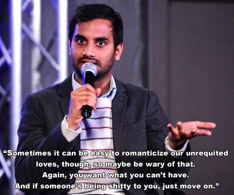 Aziz ansari online dating