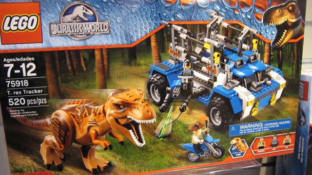 Official 'Jurassic World' Lego Playsets Are Coming!