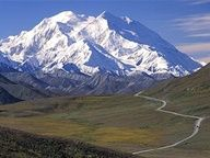 Denali National Park Alaska...walking across the tundra, spying bighorn sheep and grizzly bears from afar...an amazing landscape