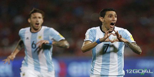 Cuplikan Gol : Chile 1-2 Argentina (Persahabatan)