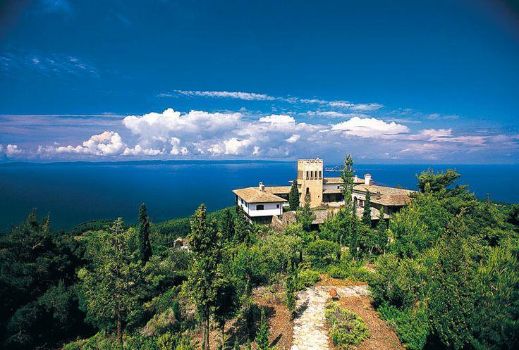 Private Castle in Chalkidiki, Greece