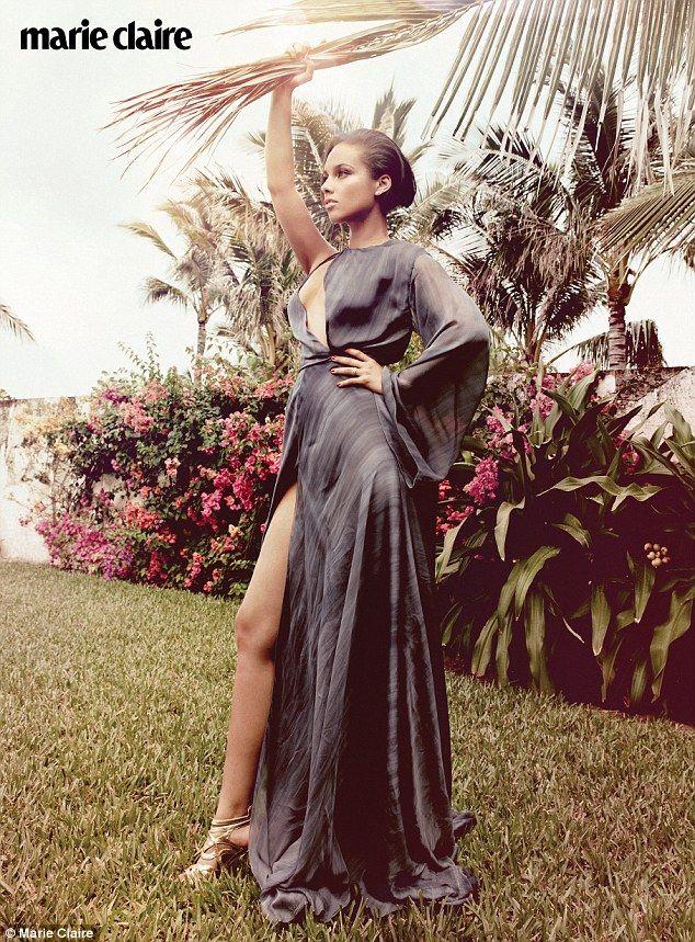 """""""Yo realmente no le gusta ': Alicia Keys habla sobre sus sentimientos iniciales hacia esposo Swizz Beatz en la nueva edición de Marie Claire"""