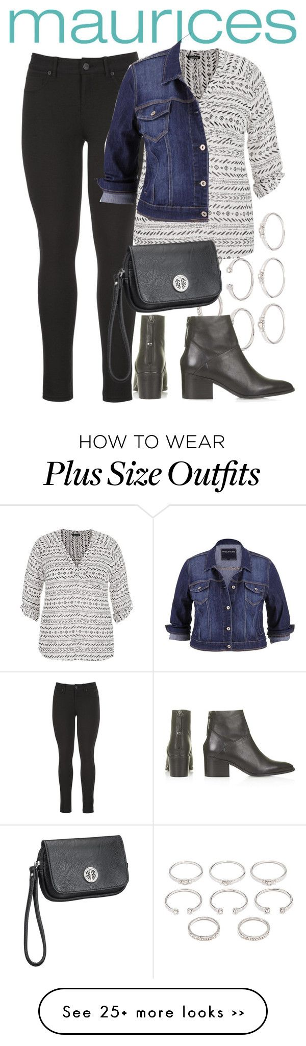 """The Perfect Blouse with maurices: Contest Entry"" by paolandreasc on Polyvore featuring maurices, Forever 21, Topshop, contest and contestentry"