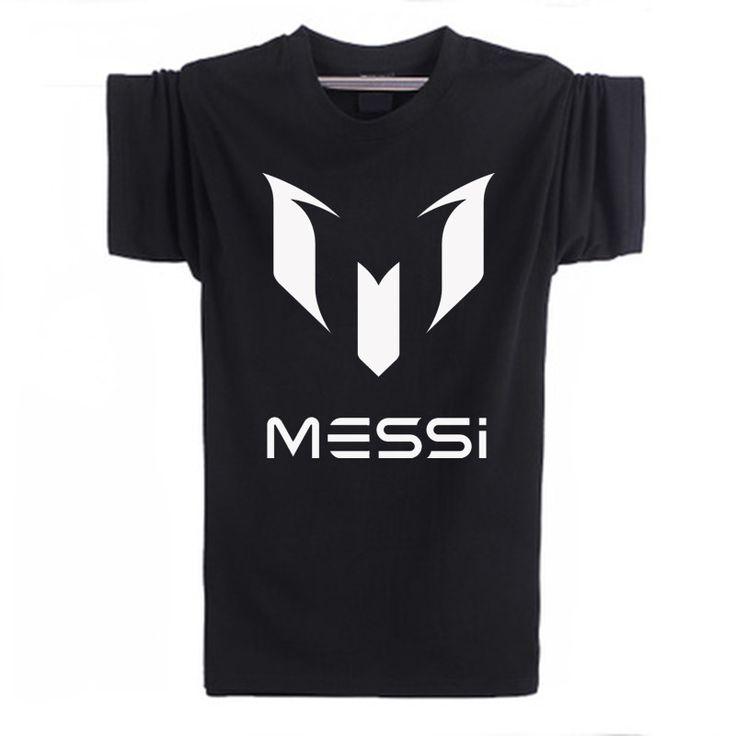 100% Cotton Barcelona MESSI Soccer Shirt