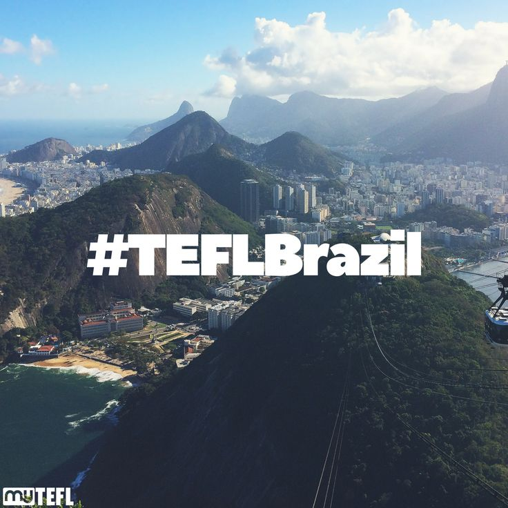 Can we tempt you with the Sugarloaf? #TEFL opportunities abound in #Brazil and South America - #Rio is just one of the awesome cities you can explore. #getoutandexplore #TESOL #makeadifference #teach #dream #qualify #school #EFL #EFLteachers #theworld #earth #goabroad #gapyear #getoutthere #explore #adventure #dosomething #getqualified #travel #traveling #backpacker #TEFLBrazil