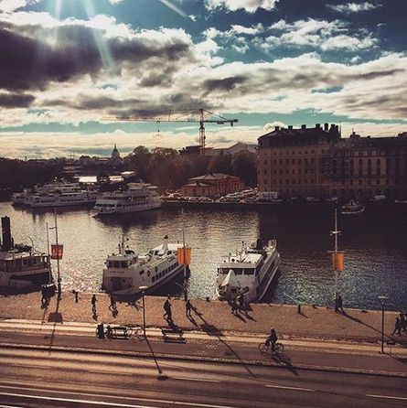 Our Creative Council kicked off today in beautiful, sunny Stockholm!