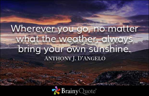 Best 25+ Weather Quotes Ideas On Pinterest