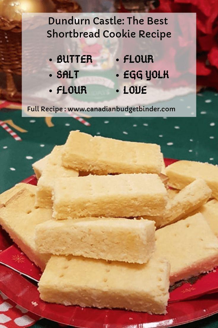 Best Shortbread Cookie Recipe: Dundurn Castle The Best Shortbread Cookie