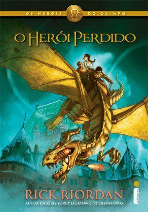 """O Herói Perdido (Rick Riordan) Os Heróis do Olimpo #1  """"Sete meios-sangues responderão ao chamado.  Em tempestade ou fogo, o mundo terá acabado.  Um juramento a manter com um alento final,  E inimigos com armas às Portas da Morte afinal.""""  http://blablablaaleatorio.com/2011/10/26/o-heroi-perdido-rick-riordan/"""