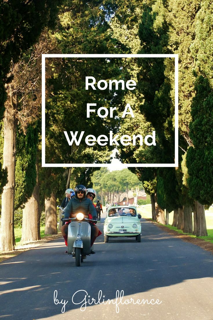 One weekend in Rome: unique tours, where to eat and artisan markets