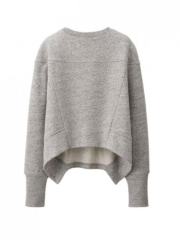 What to Wear with Your Sneakers This Fall // Urban Sweat Long Sleeve Pullover at Uniqlo #shopping: