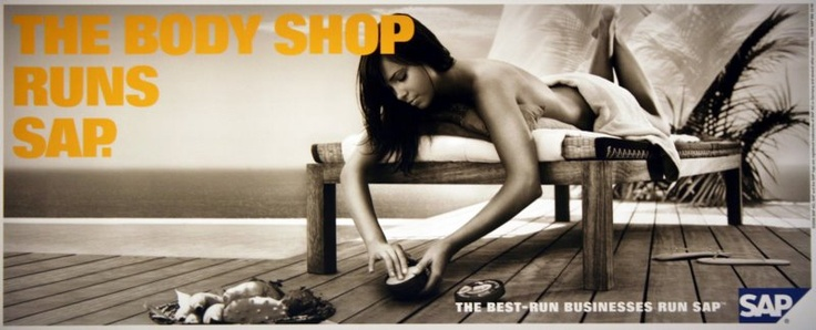 """""""Best run businesses run SAP"""" campaign designed by Ogilvy & Mather - simple message, leveraging the most aspirational brands of SAP's existing customer base, communicating SAP's criticality to their customer's business."""