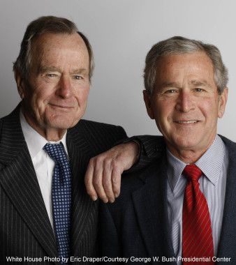 President George W. Bush to Publish Personal Biography of His Father, President George H. W. Bush - The Crown Publishing Group