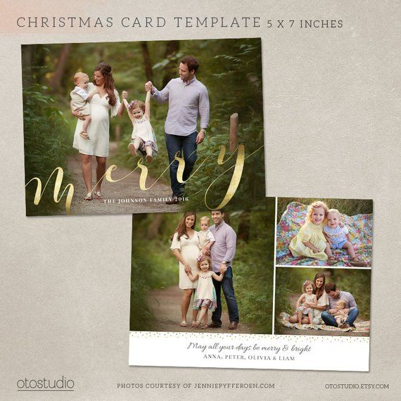 Christmas Card Template Photoshop Template 5x7 Flat Card Etsy Christmas Card Template Photoshop Christmas Card Template Postcard Template