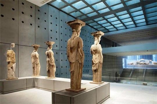Statues. Acropolis Museum