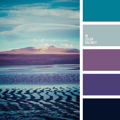 palette de couleur paysage bleu/violet. #palette #colorimétrie - margauxduprat.com -