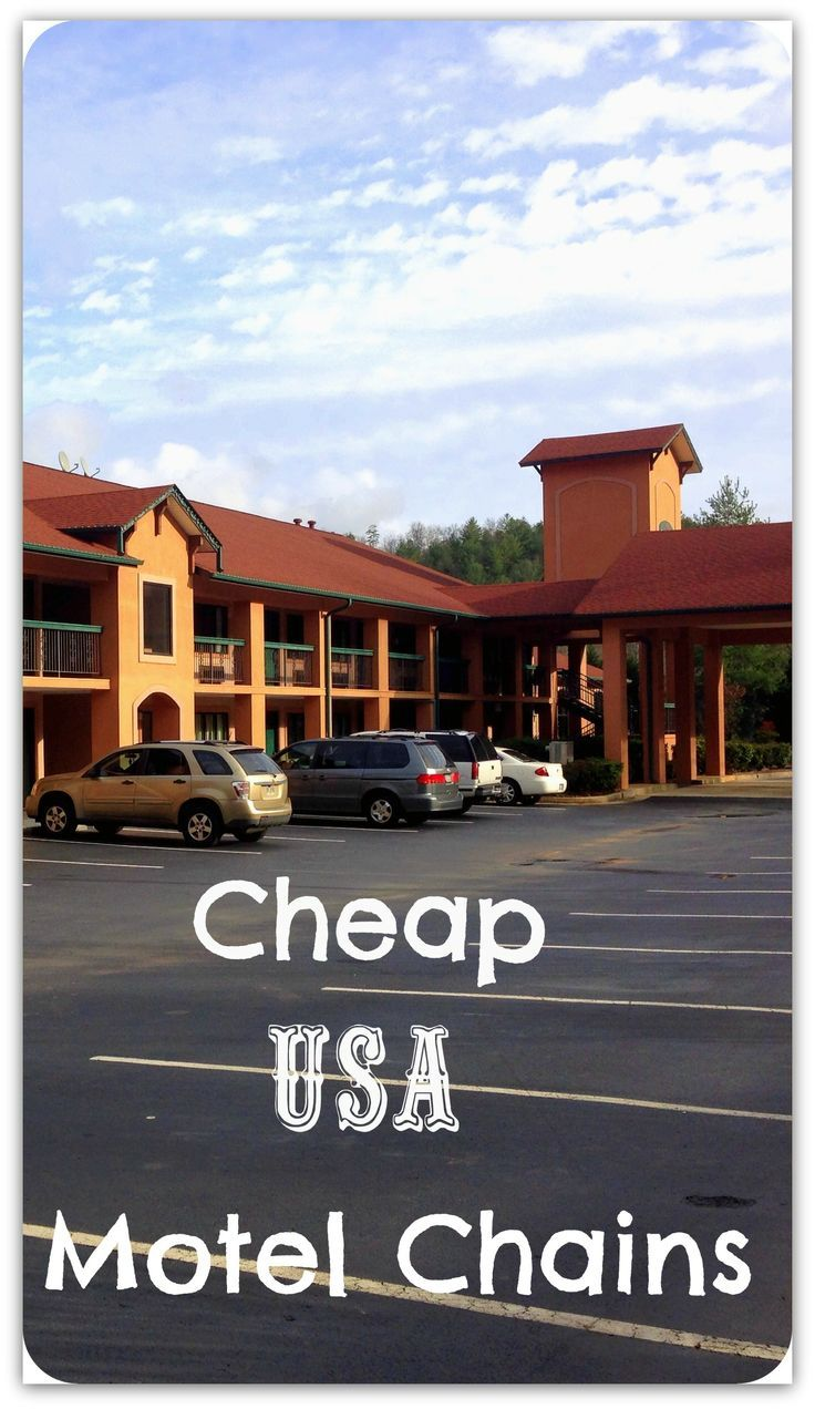 Our experiences staying in many different, cheap, USA Motel Chains!!