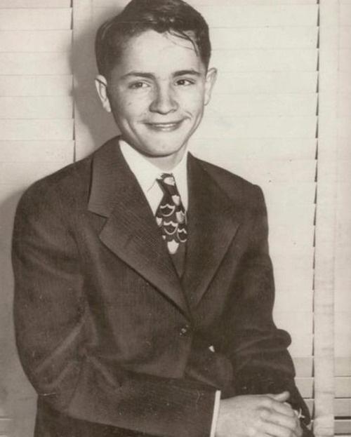 Charles Manson, at age 12