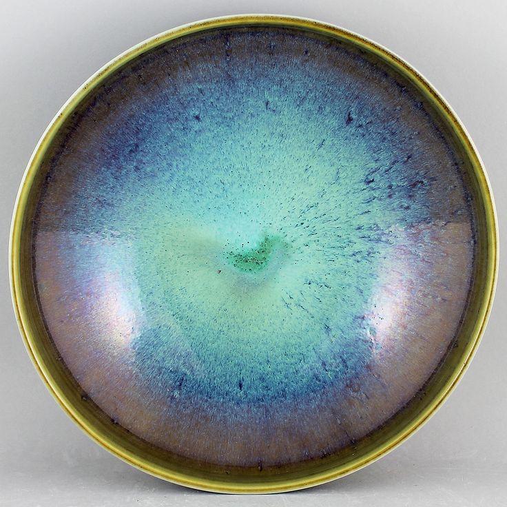 Berndt Friberg (1970) Majestic Unique Aniara and Oxblood Bowl