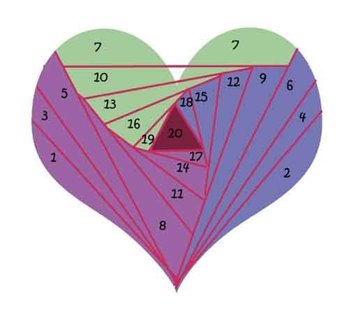 how to iris folding instructions
