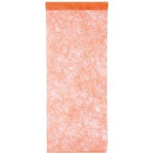 Chemin de table fanon intissé orange, déco de table festive, Halloween, fêtes.  http://www.baiskadreams.com/1890-chemin-de-table-fanon-intisse-couleur-.html