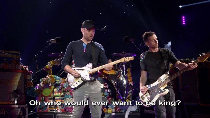 Coldplay - Viva La Vida Live at Rose Bowl Pasadena 2016
