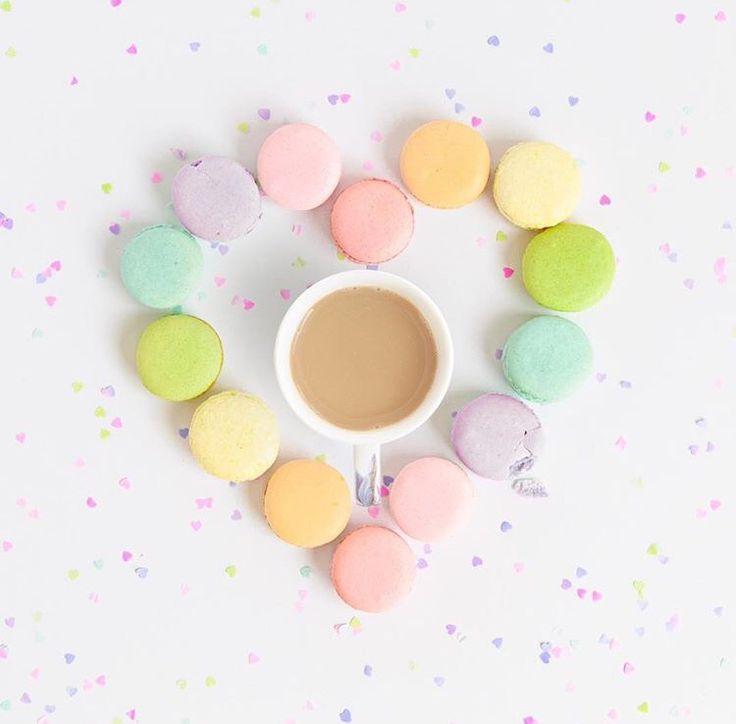 Macarons e caffè...