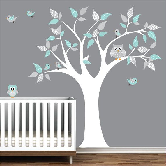 Children Vinyl Wall Decals tree decal with by Modernwalls on Etsy, $99.00