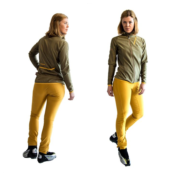 SWEARE XC 50/50 Jacket in the color Smooth hulk and the XC 360 Pant in the color Yellow spark. In this color combination you can be one of a kind in the tracks! The jacket and pant are perfect for autumn and winter running and of course for XC skiing. Products are responsibly made in Estonia. All design and development made in Åre, Sweden. #älskasnö #vasaloppet #älskaåre #längdskidåkning #running #trailrunning #vinter