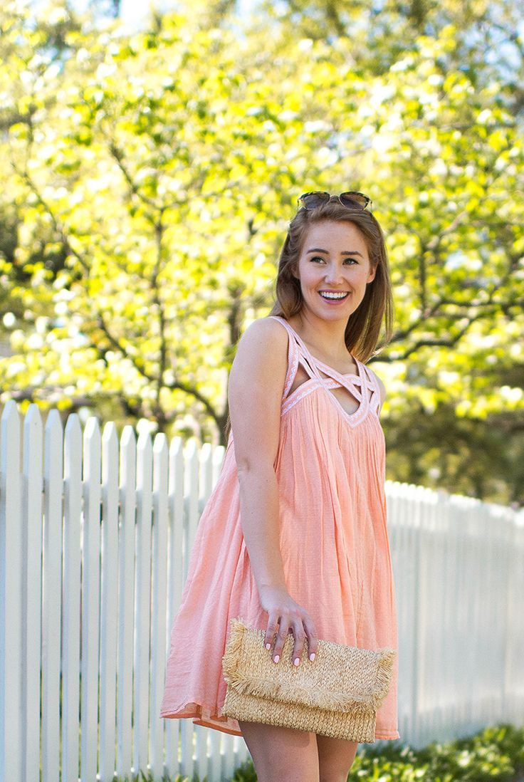 Coral Sundress | summer fashion | summer style | how to style a sundress | fashion for summer | style ideas for summer | warm weather fashion | fashion tips for summer || a lonestar state of southern