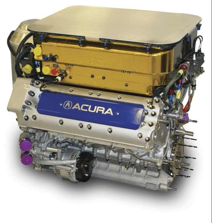 Acura LMP1 V8 Engine 2009