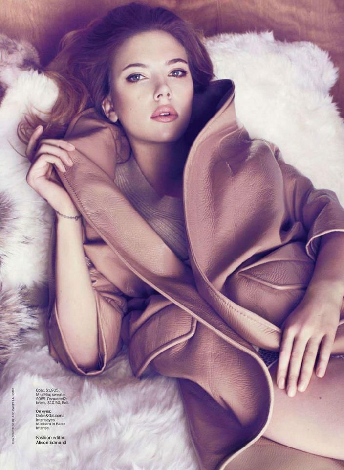 #Scarlett#MarieClaire#May#US#