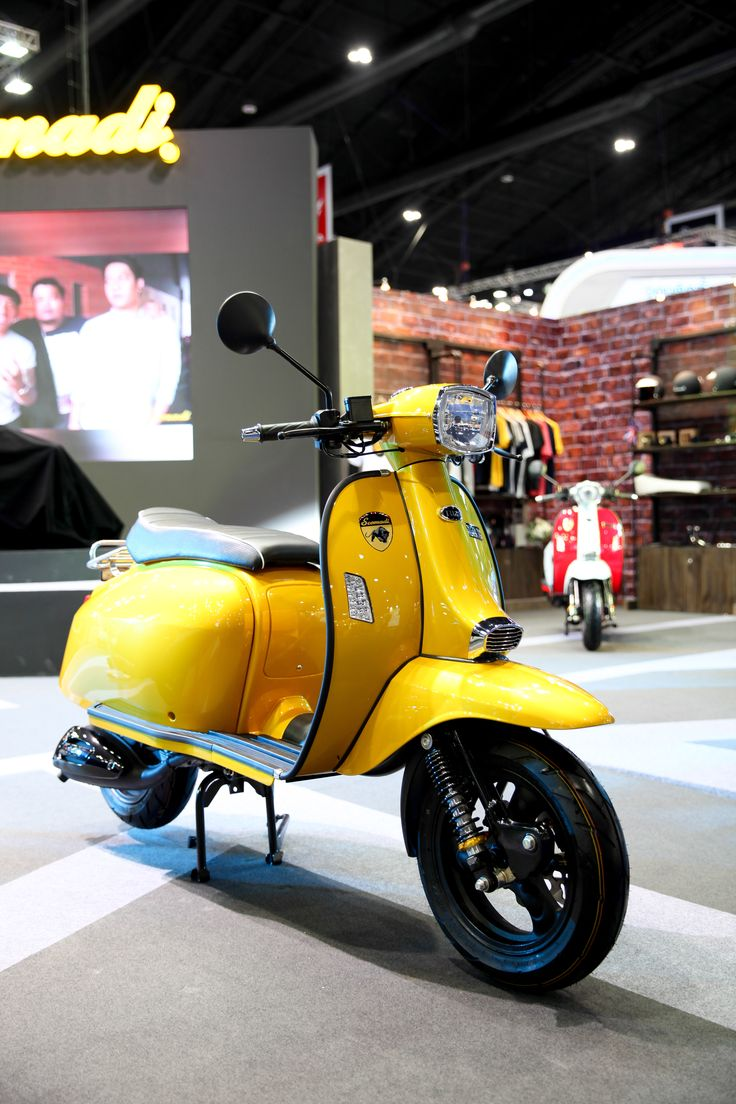 Scomadi TL125 Scooter : Yellow (Special Color)