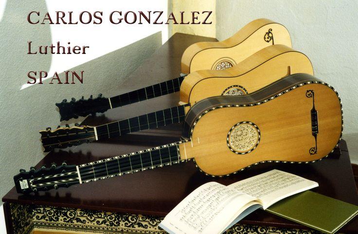Tres guitarras barrocas