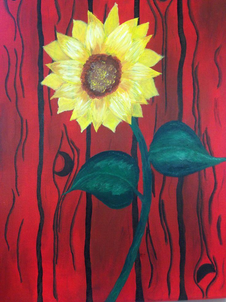 Sunflower - Acrylic